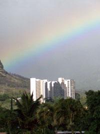 Rainbow at Makaha