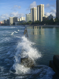 Waikiki Beach morning